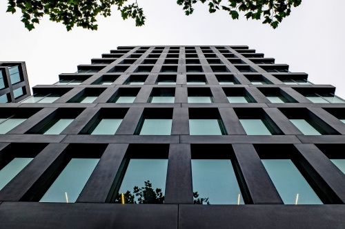 pastatas,bokštas,architektūra,šiuolaikiška,moderni architektūra,stiklas,abstraktus,Rotterdam