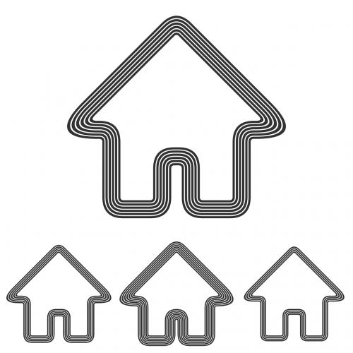 building real estate icon
