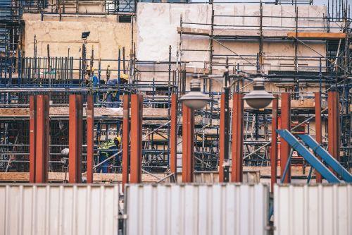 building built construction