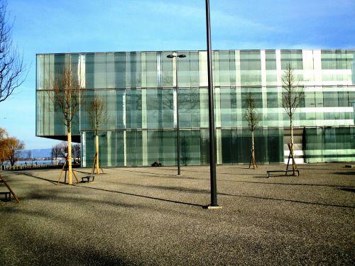 building new building glass facades
