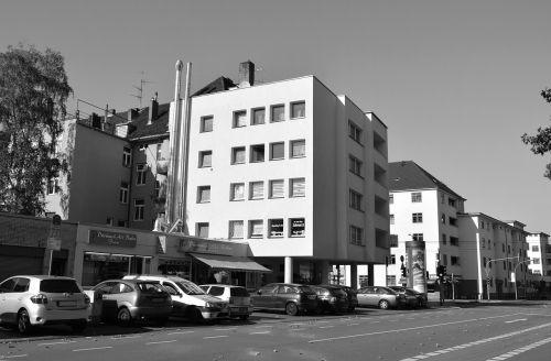 pastatas,knygų miškas,Kelnas,architektūra,miesto,kampinis waldecker heidelberger str,architektūra,kelias,šiuolaikiška,miestas,moderni architektūra
