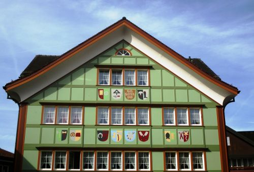 building appenzell house typical
