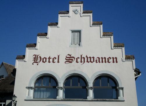 building rapperswil jona hotel schwanen