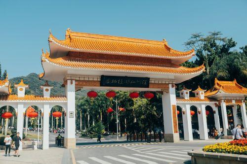 building temple tourism