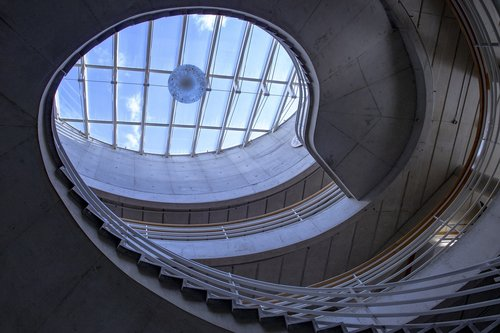 building  stairs  architecture