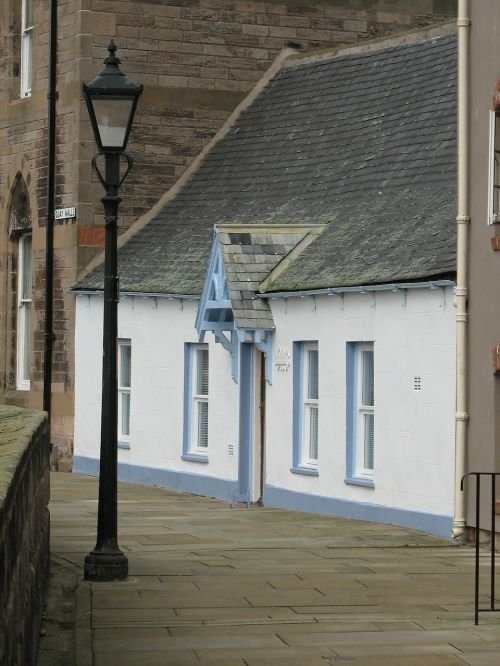 building old fashioned berwick upon tweed