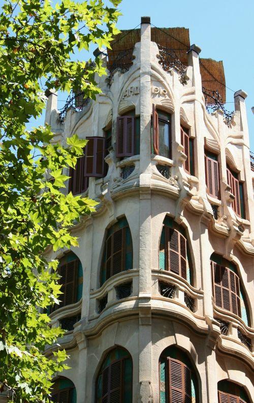 building architecture art nouveau