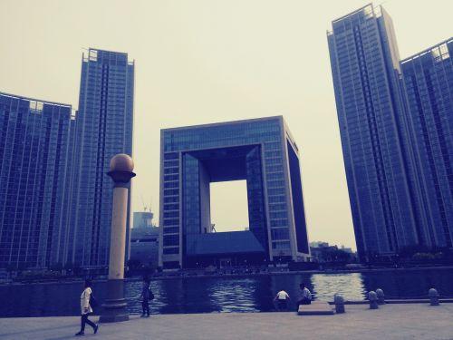 building riverside tianjin bay square