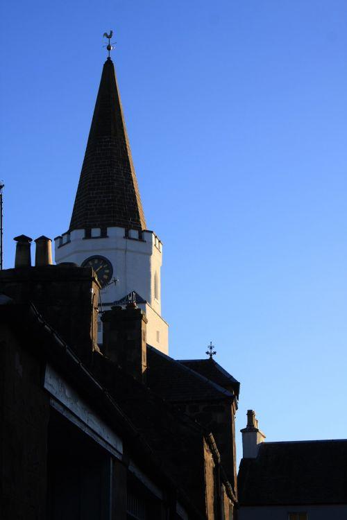 building sky spire