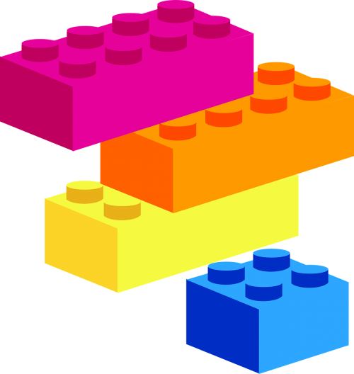 building blocks shapes puzzle