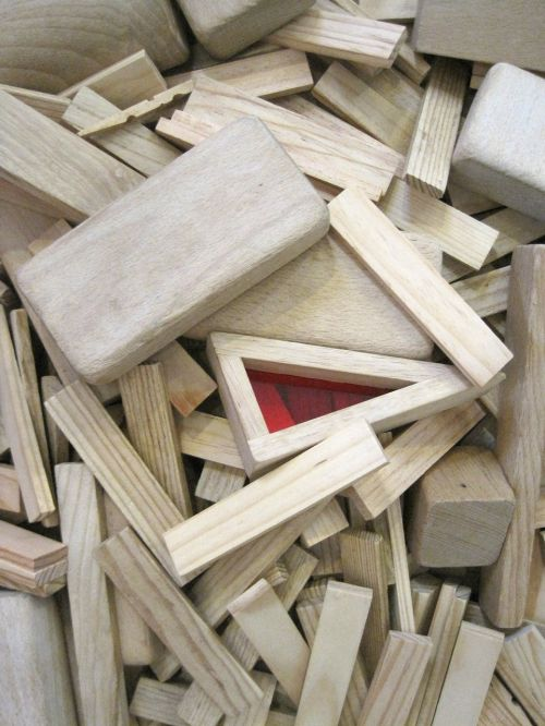building blocks wood stones toys