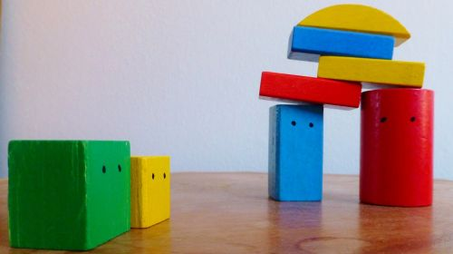 building blocks colorful build