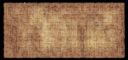building plan paper parchment