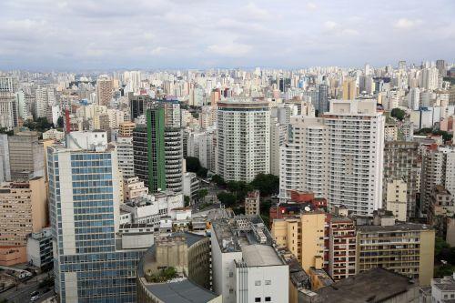 são paulo buildings urban