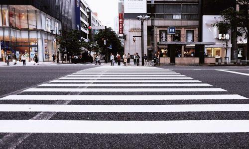 buildings city crossing