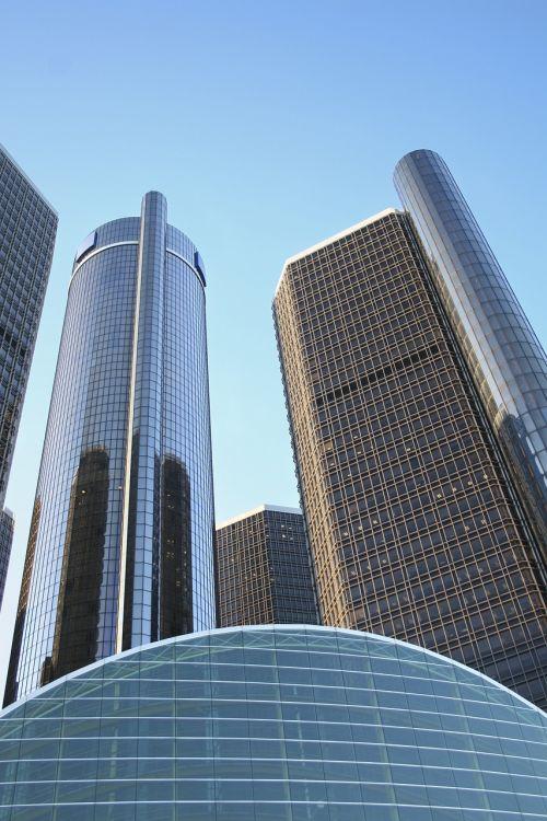 buildings detroit general motors headquarters
