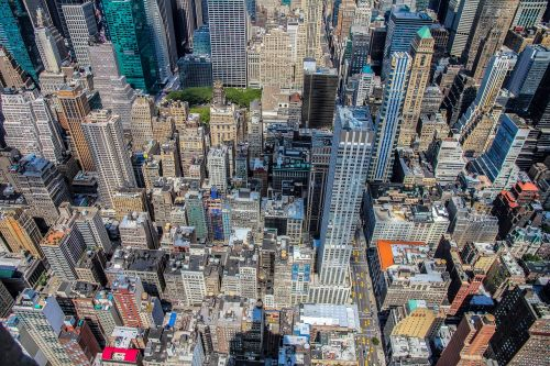 buildings city skyscrapers