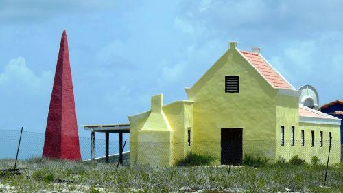 buildings colors bonaire