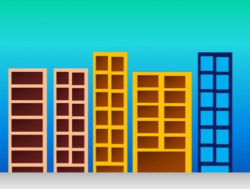 buildings building cartoon