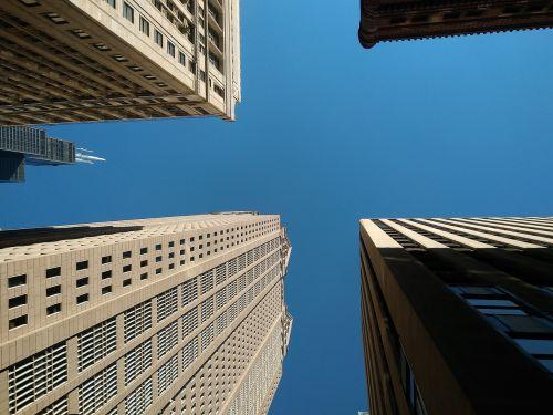 buildings chicago skyscrapers