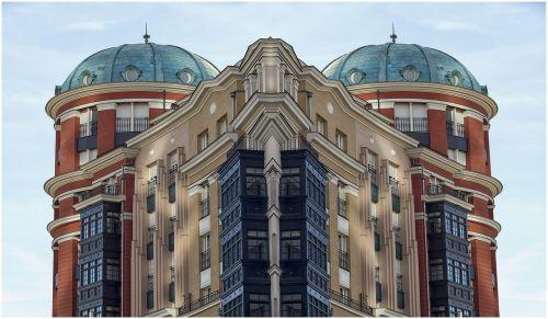 buildings symmetries houses