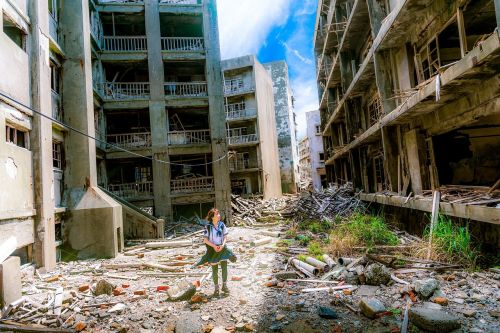 buildings disaster debris