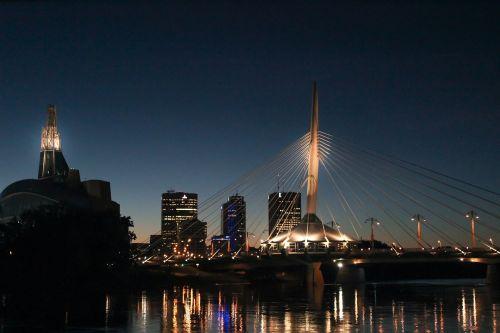 buildings lights architecture