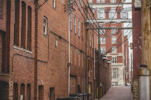 buildings apartments bricks
