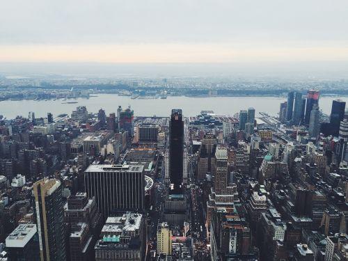 buildings city towers