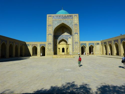 bukhara mosque kalon mosque islam