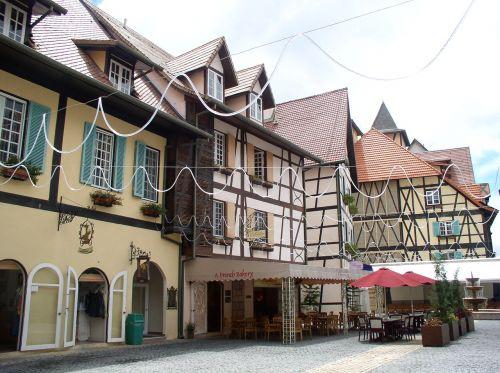 bukit tinggi french village style resort janda baik