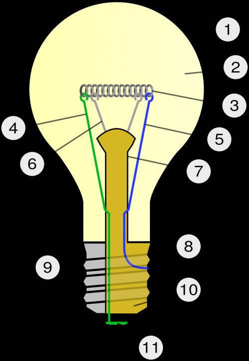 bulb light electricity