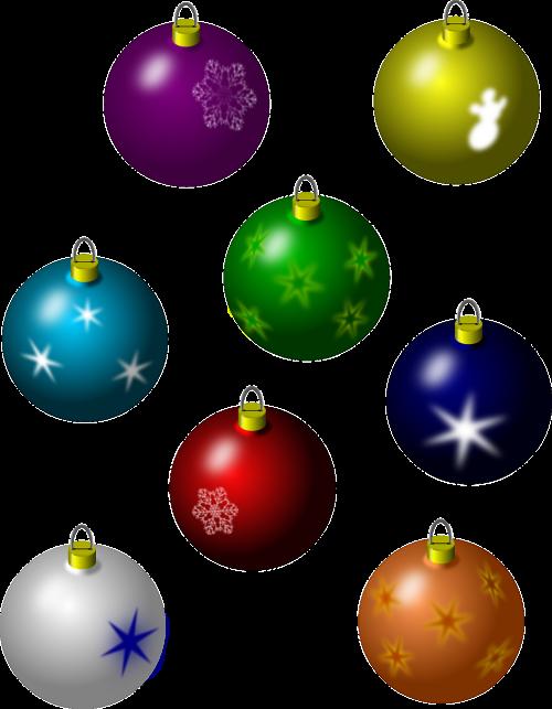 bulbs decoration christmas balls