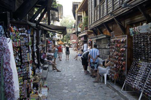 bulgaria old town street