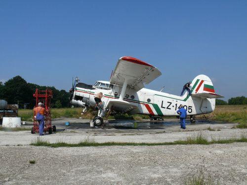 bulgaria plane agriculture