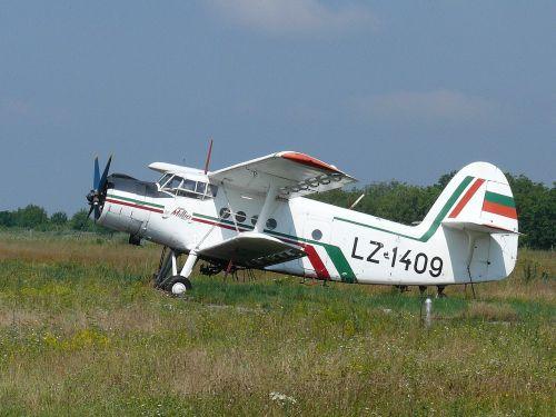 bulgaria airport agricultural aircraft