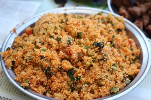 bulgur salad turkish cuisine