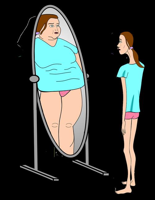 bulimia  anorexia nervosa  skimmed delusional