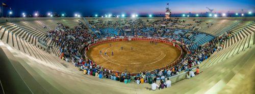 bull ring plaza de toros panorama