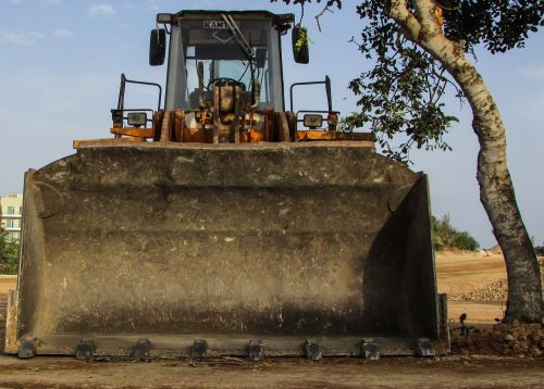 bulldozer heavy machine construction