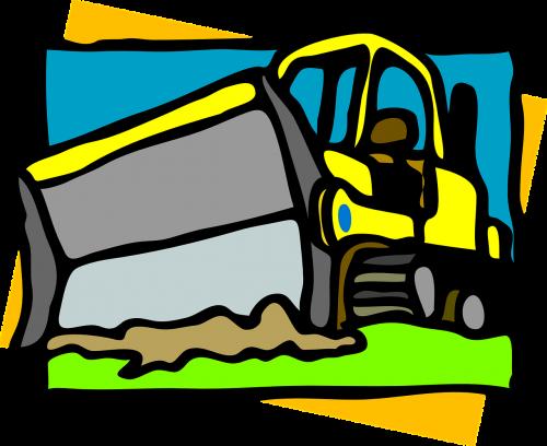 bulldozer equipment heavy