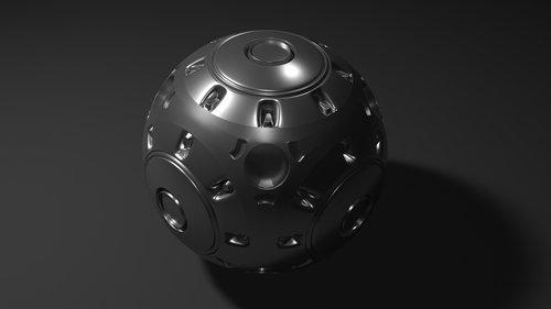 bullet  metal  3d