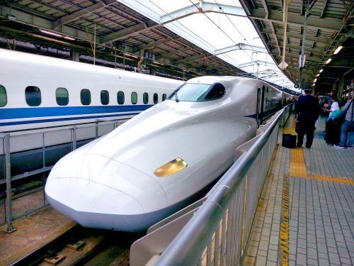 bullet train shinkansen railway