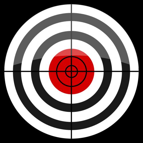 bull's eye target butt