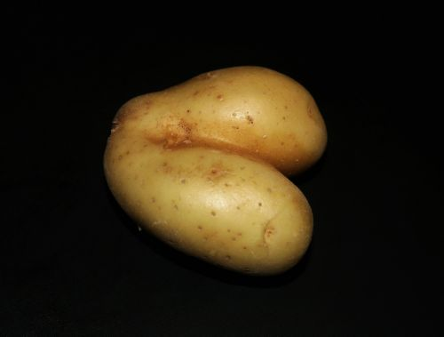 Bum Shaped Potato