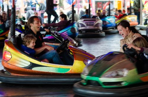 bumper car fair bumper