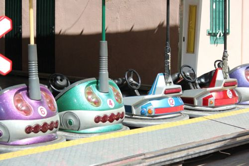 bumper cars rides children