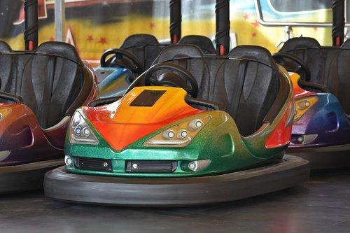 bumper cars  ride  fair