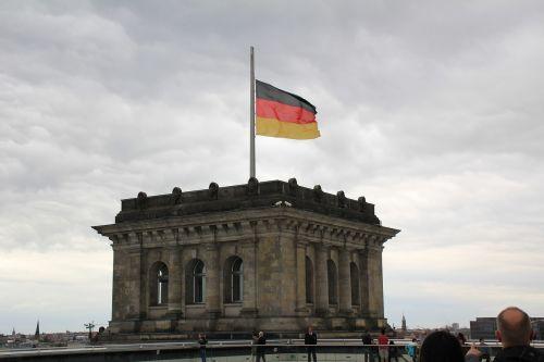 bundestag reichstag flag
