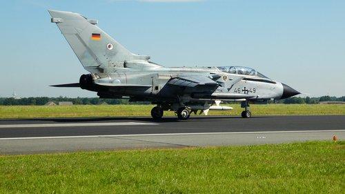 bundeswehr  fighter jet  panavia